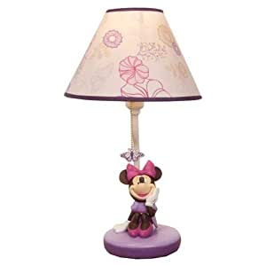 minnie mouse butterfly dreams lamp base. Black Bedroom Furniture Sets. Home Design Ideas