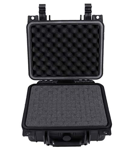 Casematix 11 inch Camera Case Compatible with Blackmagic Pocket Cinema Camera 6k, Lens and Accessories in Customizable Foam and Waterproof Shell (Best Lenses For Blackmagic Pocket)