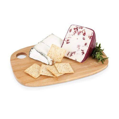 竹製チーズボード モダンな小型チーズカッティングボード 長方形 (ケース販売 12個入り)   B07KLX7W2L