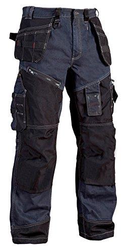 Blakläder Bundhose Handwerker X1500, 1 Stück, D88, marineblau / schwarz, 150011408999D88