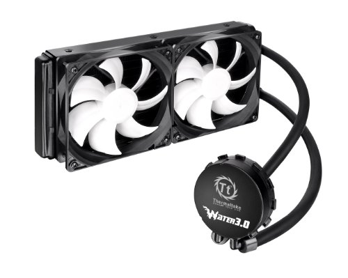 Aluminum Water (Thermaltake Water 3.0 Extreme S 240mm Aluminum Radiator AIO Liquid Cooling System CPU Cooler CLW0224-B)