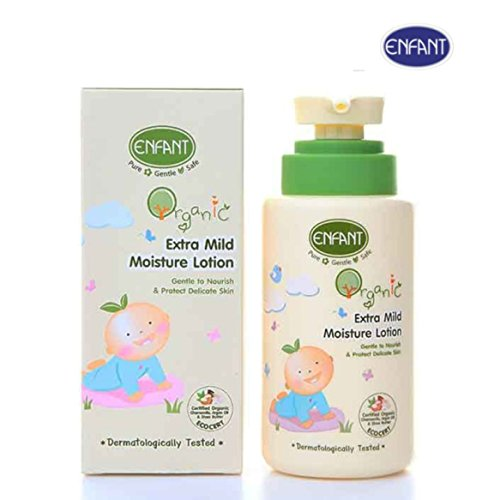 [Enfant Organic Extra Mild Moisture Baby Lotion ( Pack of 8.45 Fl.oz. ) Gentle to Nourish & Protect Delicate Skin, Dermatolgically Tested, Ship with Tracking] (Revealing Costumes)