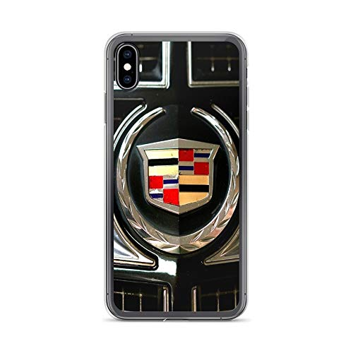 - iPhone Xs Max Pure Clear Case Cases Cover Cadillac Logo Emblem