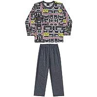Pijama Blusa E Calça Meia Malha Pai E Filho Quimby