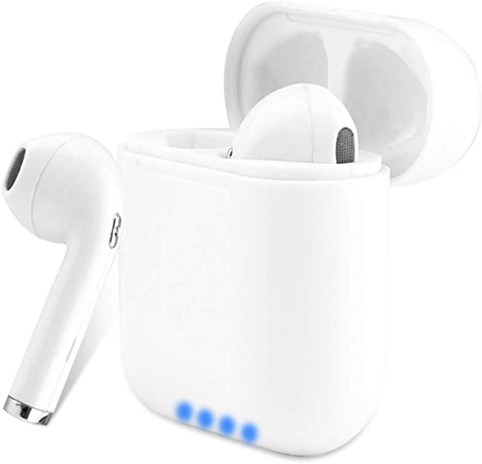 Apple Works with Boxgear HTC Desire 828 Dual sim Bluetooth Headset in-Ear Running Earbuds IPX4 Waterproof with Mic Stereo Earphones Samsung,Google Pixel,LG CVC 6.0 Noise Cancellation