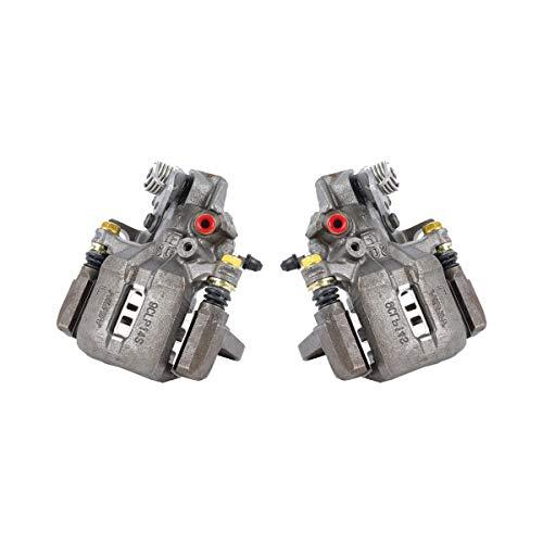 CCK02459 [ 2 ] REAR Premium Grade OE Semi-Loaded Caliper Assembly Pair Set ()