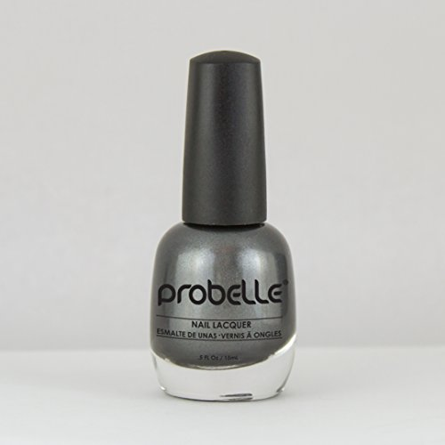 Probelle My Steel Dark Look Nail Polish | .5 Fl Oz/ 15 Ml | Long Lasting Nail Polish with High Gloss Finish | Quick Dry