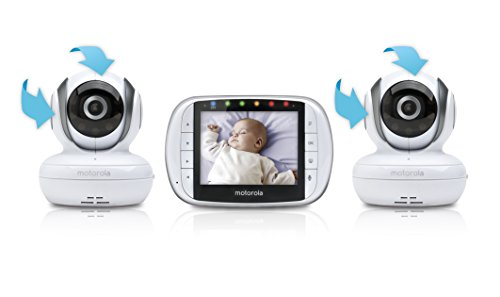 Motorola Video Baby Monitor with 2 Cameras, 3.5 Inch LCD Screen by Motorola