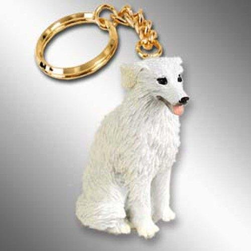 Kuvasz Tiny Ones Dog Keychains (2 1/2 in)
