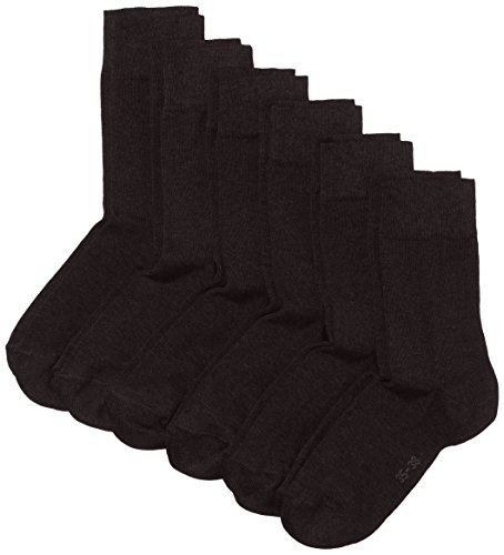 MyWay Damen Socken, 6er Pack, Gr. 39/42, Schwarz (black 610)