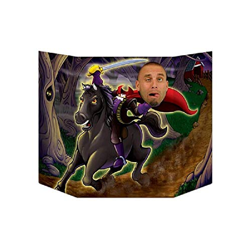 Bargain World Headless Horseman Photo Prop (with Sticky Notes) ()
