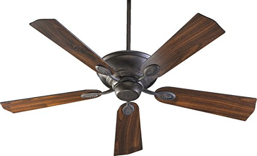 Quorum 38525-44, Kingsley Toasted Sienna Energy Star 52'' Ceiling Fan by Quorum