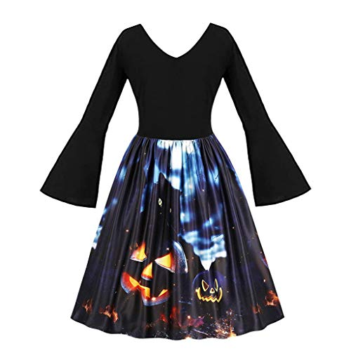 Modest Hula Costumes - Womens 50s Pin Up Halloween Dress