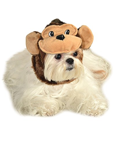 Rubie's Pet Costume Monkey Hat, Small to Medium -