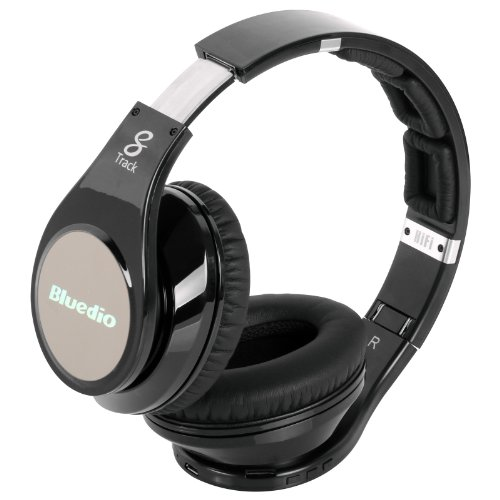 0bebde29b86 Bluedio Model R Revolution 8 Tracks Built in Mp3 Player Hi-Fi Rank Wireless  & Bluetooth Headphones (Black) - Buy Online in Oman. | Electronics Products  in ...