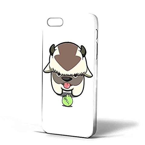 Avatar the Last Air Bender - Appa and Cabbage, Iphone Case (iPhone 6 plus White) (Avatar Phone Case Galaxy S3)