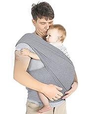 Lictin Babydraagdoek kinderdraagdoek babybuikdrager sling draagdoek voor baby pasgeborenen binnen 16 kg