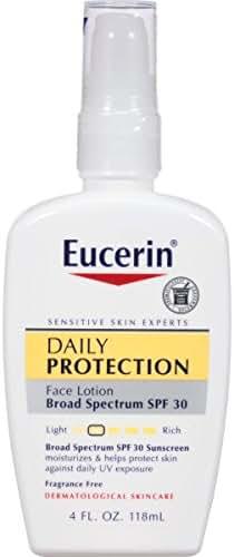 Eucerin Daily Protection Face Lotion SPF 30 4 oz