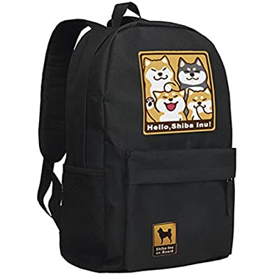 c626c14b14ec 50%OFF Anime Doge Backpack Cosplay Bag School Bag - sysbearing.com
