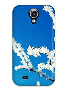 High Quality CaseyKBrown Winter Frosted Tree Skin Case Cover Specially Designed For Galaxy - S4