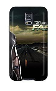 Rugged Skin Case Cover For Galaxy S5- Eco-friendly Packaging(faster 2010 Movie)