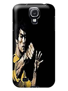 Custom unique New Style Popular Bruce Lee fashionable TPU phone Protector Shield Case for Samsung Galaxy s4