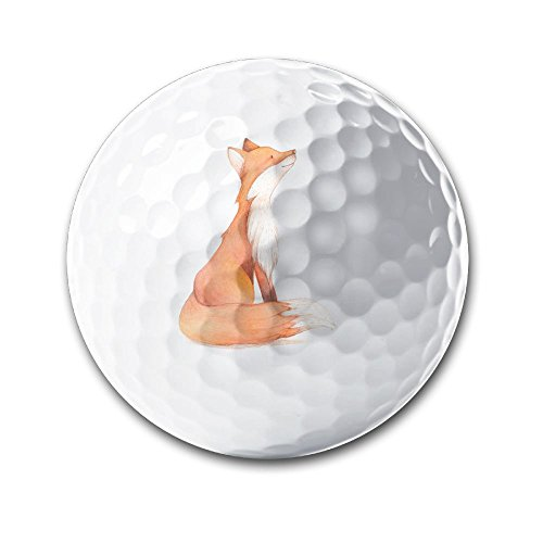 Fox Painting Sporting Practice Golf Balls Distance Golf Balls In Diameter - Mall Valley Fox Stores In