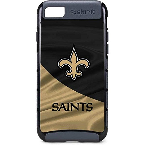 Saints Cell (Skinit NFL New Orleans Saints iPhone 8 Cargo Case - New Orleans Saints Design - Durable Double Layer Phone Cover)