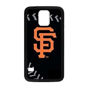 Fashion Popular Black Orange San Francisco Giants Baseball Team Sport Samsung Galaxy s5 Case Shell Cover (Laser Technology)