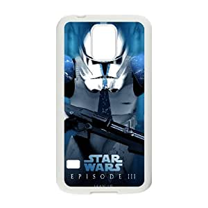 Good Quality Phone Case With HD Star Wars Images On The Back , Perfectly Fit To Samsung Galaxy S5
