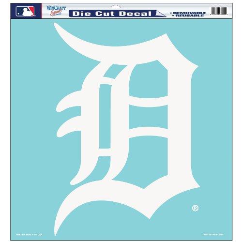 MLB Detroit Tigers 18-by-18 Diecut Decal