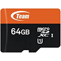 Deals on Team 64GB MicroSDXC UHS-I/U1 Class 10 Memory Card