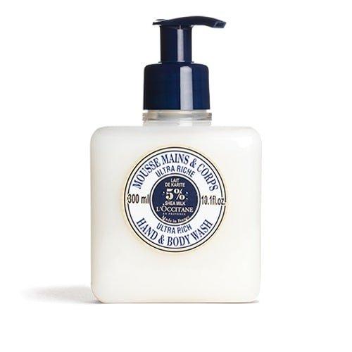 L'Occitane Ultra-Rich Hand & Body Wash Enriched with 5% Shea Milk, 10.1 fl. (Loccitane Shower)