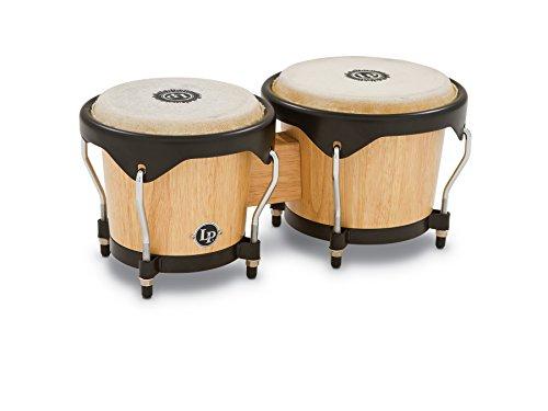 Latin Percussion LP601NY-AW LP City Wood Bongos - Natural ()