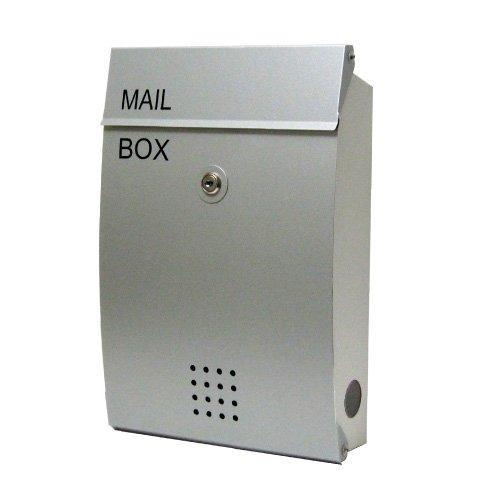 EUROデザイナーズポスト ユーロデザイナーズポスト MB5005 オールアルミ マグネット 郵便受け MB5005-KM-AA 031 シルバー 奥行26×高さ38×幅8.5cm B00YTZE04Y 21023