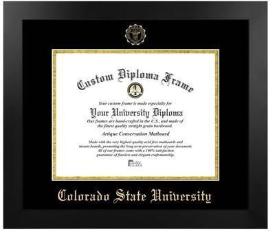 Colorado State University Most Popular Diploma Frame