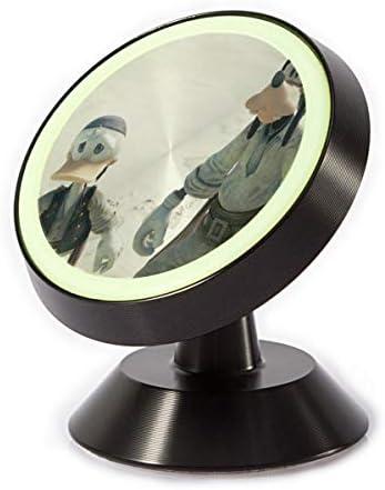 ドナルドダックと仲間 車載ホルダー 360度回転 マグネット式 粘着式 取付簡単 高級感 おしゃれ かわいい スマホホルダー