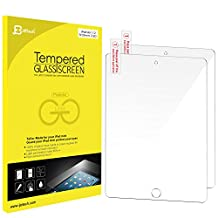 JETech 2-Pack Premium Tempered Glass Screen Protector Film for Apple iPad Air 1, 2 and iPad Pro 9.7 - 0338A