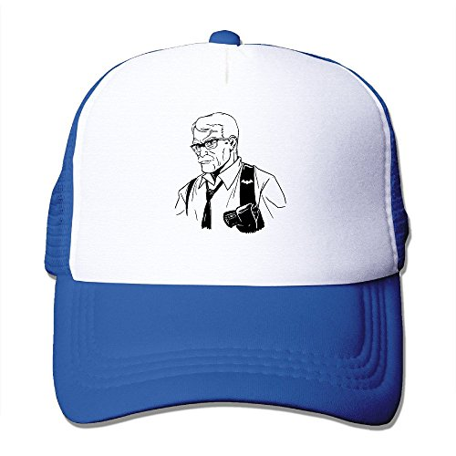 Cool James Gordon Trucker Mesh Baseball Cap Hat RoyalBlue