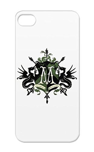 Malfoy Family Crest TPU Silver For Iphone 5 Shatterproof Draco Malfoy Harry Potter Symbols Shapes Family Slytherin (Slytherin Symbol)