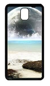 Earth And Sea Water Custom Designer Samsung Galaxy Note 3 / Note III/ N9000 - TPU - Black