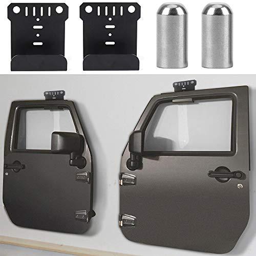 Arc Wall - Fits Jeep Wrangler Doors Hanger & Door Pin Guides for Re-installation JK JKU JL TJ