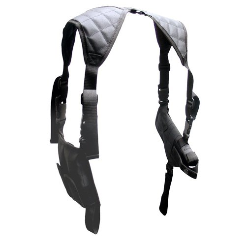 (UTG LE Grade Universal Horizontal Shoulder Holster, Black)