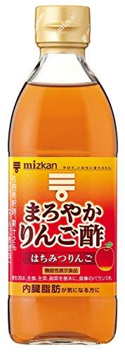 Mitsukan mellow apple vinegar honey apple 500ml (Apple Vinegar Japanese)