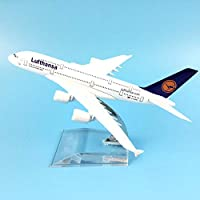 LTWAAXP Airplane Model Building 16cm Lufthansa Boeing 747 Plane Model Airplane Model Airbus Aircraft Model 1:400 Diecast Metal Airplanes Plane Toy