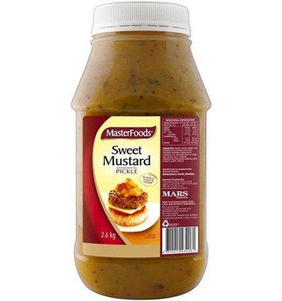 Masterfoods Mostaza Dulce salsa de Pepinillos 2.6 kg: Amazon.es: Alimentación y bebidas