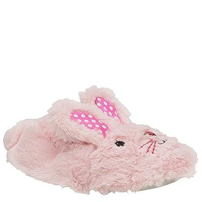 Stride Rite Little Girls' Fuzzy Bunny, Pink