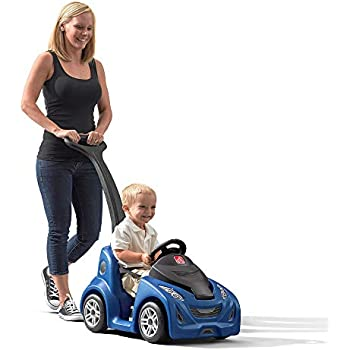 Amazon Com Little Tikes Deluxe 2 In 1 Cozy Roadster Toys