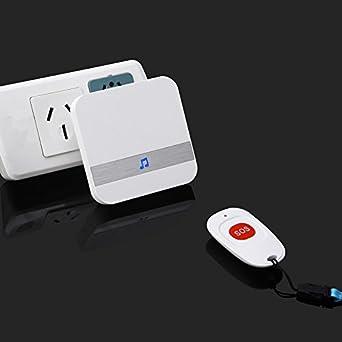 Amazon.com: Botón de llamada de emergencia para ancianos ...