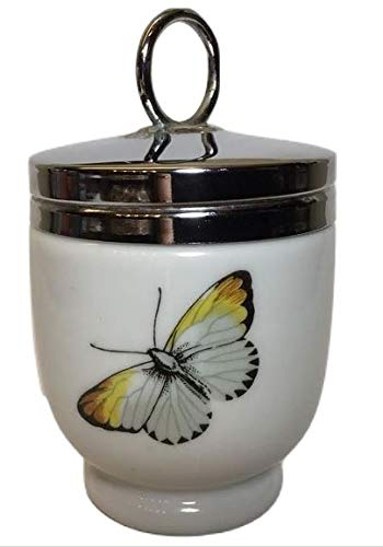 Royal Worcester Egg Coddler Strawberry Fair and Butterfly - Single Egg ()